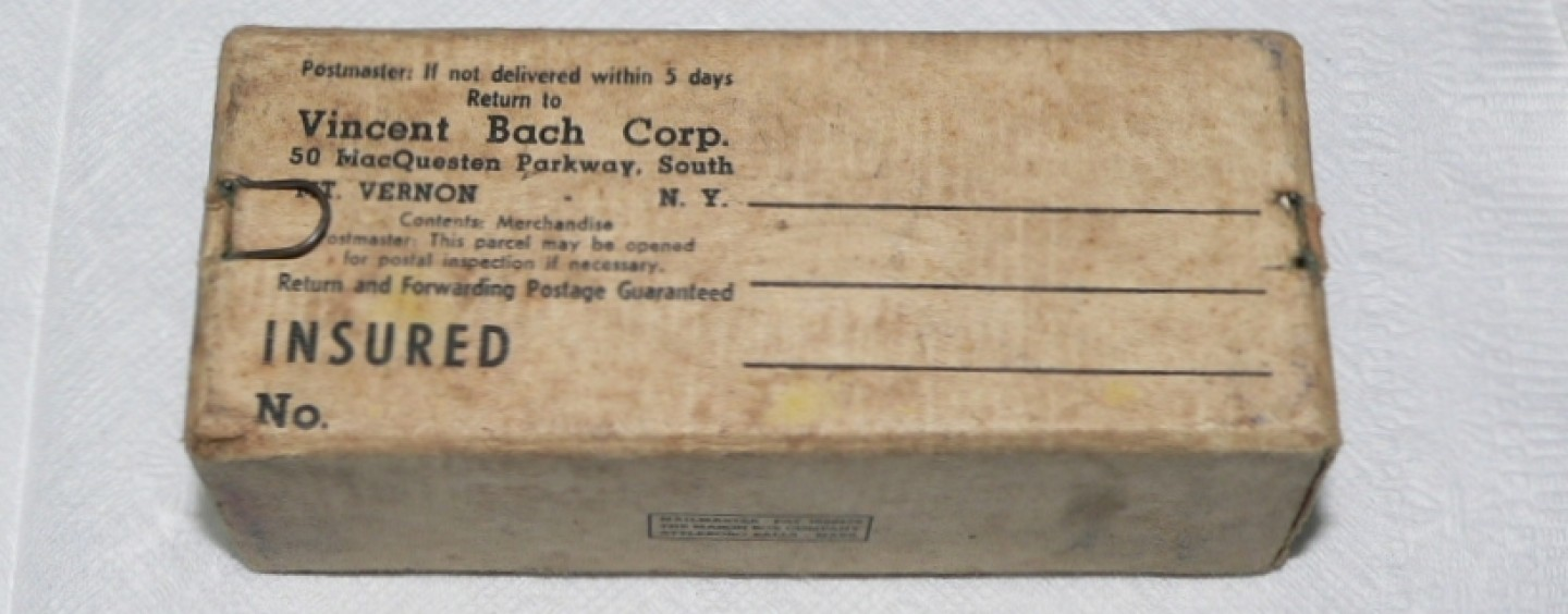 Bach Mouthpieces – Packaging (Mt. Vernon)
