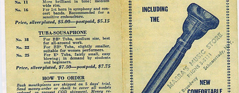 Bach Mouthpieces – Catalogs