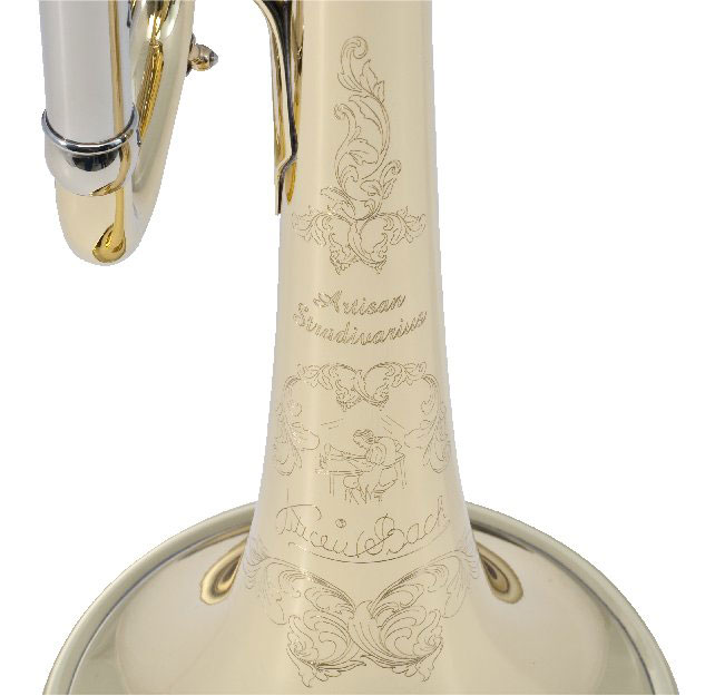 Bach Stradivarius Artisan bell logo